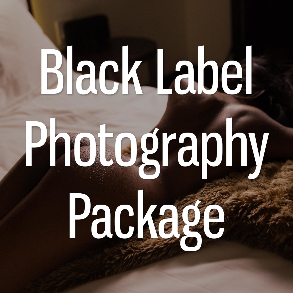 Black Label Photography Package