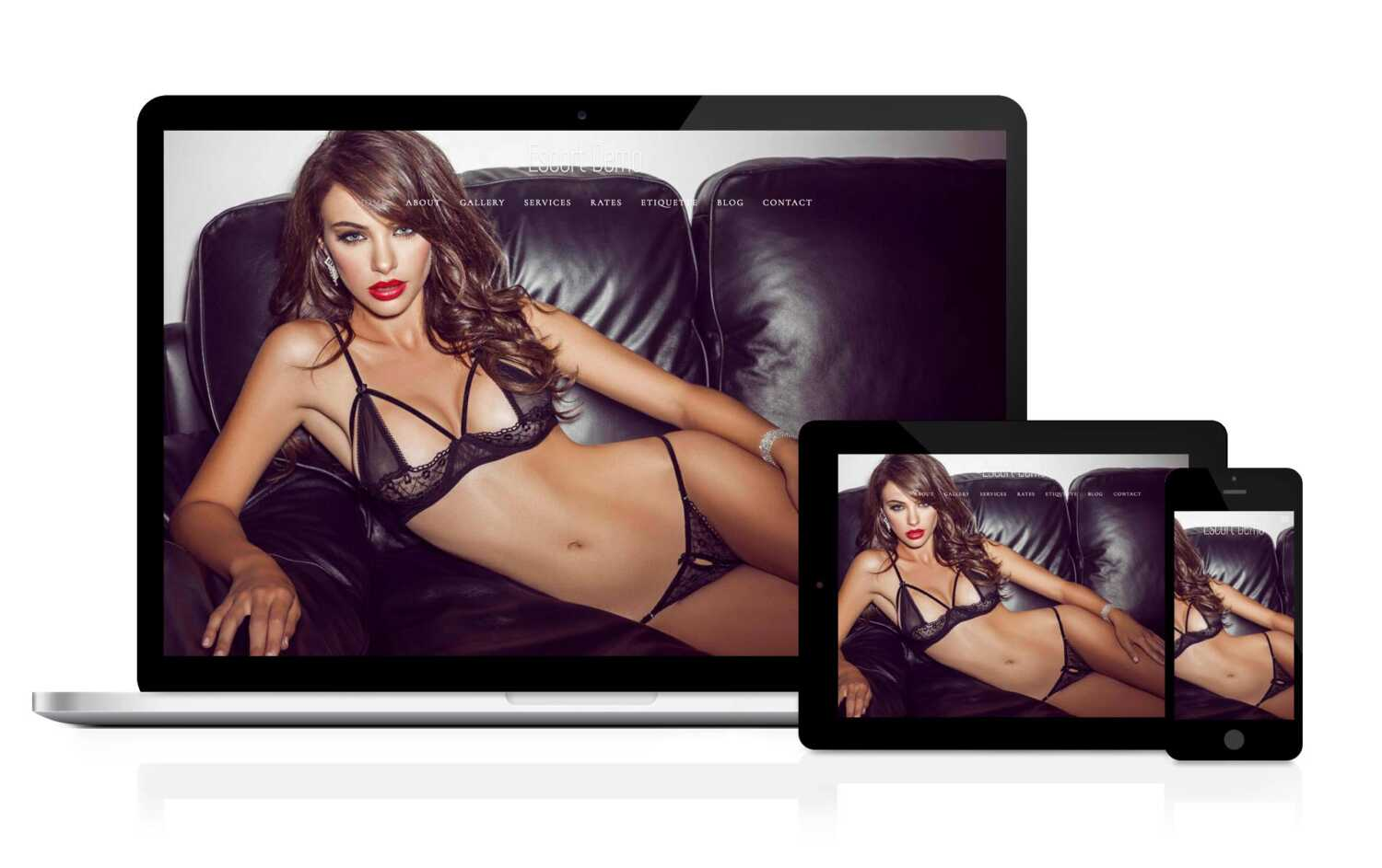 Escort website design