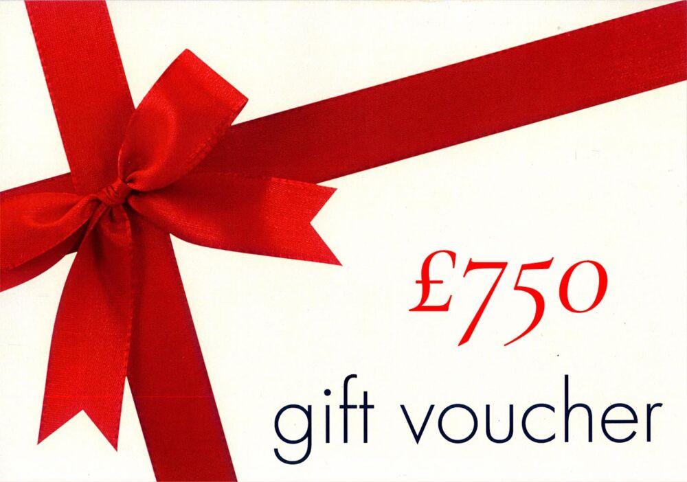 £750 Gift Voucher
