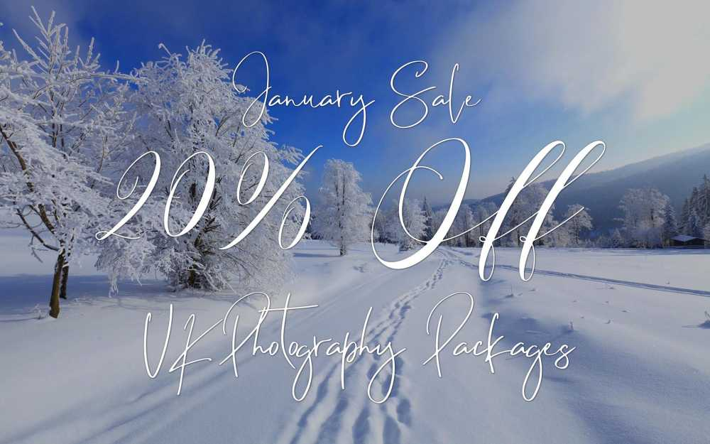 20% Photography Packages