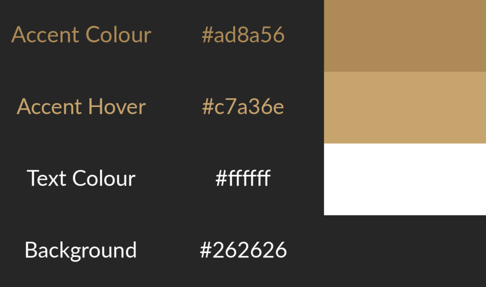 Website Colour Ideas