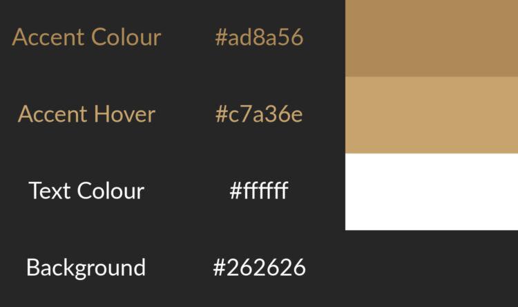 Website Colour Ideas